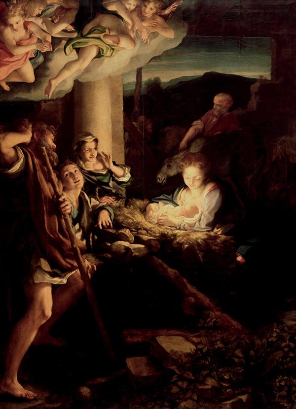 Correggio, La Notte, 1529
